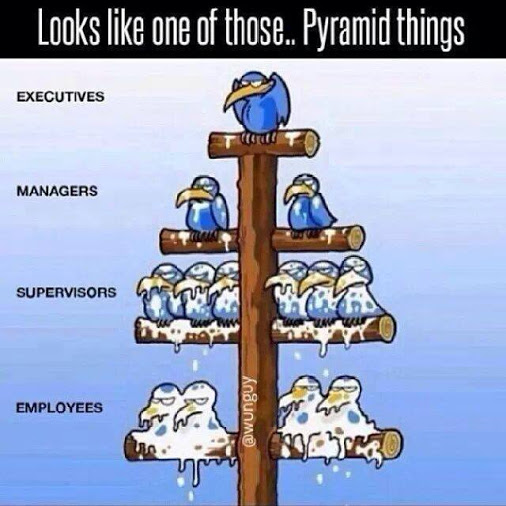 The Real Pyramid Scheme is Your Job